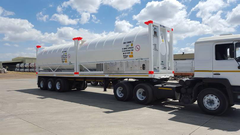 Rental services of 20 ft cryogenic ISO tank containers